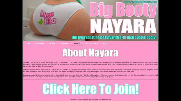 BigBootyNayara.com - SiteRip