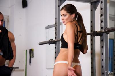 Caprice - We Cum To You Gym