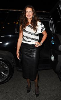 Brooke Shields attends Harper's Bazaar ICONS party 7