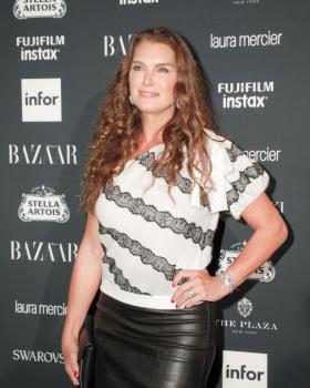 Brooke Shields attends Harper's Bazaar ICONS party 8