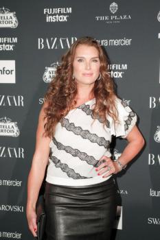 Brooke Shields attends Harper's Bazaar ICONS party 11