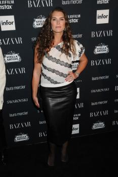 Brooke Shields attends Harper's Bazaar ICONS party 17