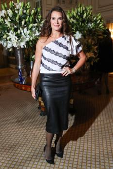 Brooke Shields attends Harper's Bazaar ICONS party 18